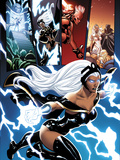 Origins of Marvel Comics: X-Men No.1: Storm Flying Poster by Dodson Terry