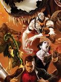 Amazing Spider-Man No.642 Cover: Peter Parker, Scorpion, Morbius, Rhino, and Anti-Venom Standing Posters by Marko Djurdjevic