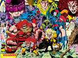 X-Men No.1 Pin-up Group: A Villains Gallery Prints by Jim Lee