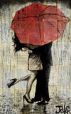 The Red Umbrella Posters by Loui Jover