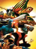 Uncanny X-Men: First Class No.5 Cover: Wolverine Affiches par Cruz Roger