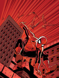 Friendly Neighbourhood Spider-Man No.1 Cover: Spider-Man Posters by Wieringo Mike