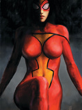 Spider-Woman No.1 Cover: Spider Woman Prints by Maleev Alex