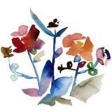 Nouveau Boheme No. 1 - Japanese Garden Series Art by Kiana Mosley