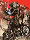 X-Men: Curse of The Mutants - Storm & Gambit No.1 Cover: Storm and  Gambit Affiches par Suayan Mico
