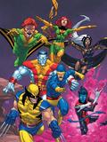 Uncanny X-Men: First Class No.2 Cover: Wolverine Poster par Roger Cruz