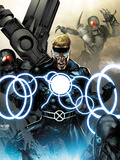 X-Men Legacy No.257 Cover: Havok Screaming Posters by Suayan Mico