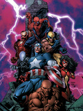 New Avengers No.1 Cover: Spider-Man Posters by David Finch