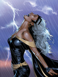 Uncanny X-Men No.449 Cover: Storm Swinging Prints by Land Greg