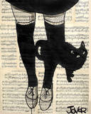 This be Cat Posters par Loui Jover