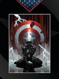Fallen Son: The Death Of Captain America No.4 Cover: Spider-Man Charging Posters by Finch David