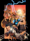 X-Men No.175 Cover: Wolverine, Storm, Black Panther, Havok, Iceman and X-Men Photo by Larroca Salvador