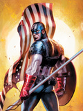Ultimate Origins No.2 Cover: Captain America Posters by DellOtto Gabriele