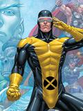 X-Men: First Class Finals No.3 Cover: Cyclops Print by Roger Cruz