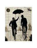 The Umbrella Kunst von Loui Jover