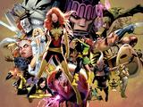 Uncanny X-Men No.544: Dark Phoenix, White Queen, Apocalypse, Sentinel, Magneto, Storm, Wolverine Affiches par Land Greg