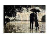 Rainy Day Rendezvous Affiches par Loui Jover