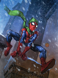 Marvel Adventures Spider-Man No.46 Cover: Spider-Man Print by Francis Tsai
