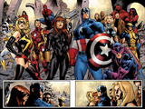 Fear Itself No.7: Ms. Marvel, Iron Fist, Iron Man, Spider-Man, Captain America and Others Prints by Immonen Stuart