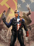 Captain America No.44 Cover: Captain America and Winter Soldier Posters by Steve Epting