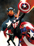 Captain America No.600 Cover: Captain America and Bucky Posters by Steve Epting