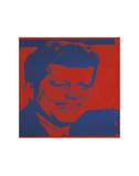 Flash-November 22, 1963, 1968 (red & blue) Posters af Andy Warhol