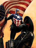 Captain America No.34 Cover: Captain America Posters by Epting Steve