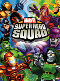 Marvel Super Hero Squad: Wolverine, Captain America, Hulk, Iron Man, Magneto, Loki, and Dr. Doom Posters