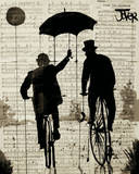 The Umbrella Posters by Loui Jover
