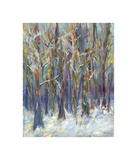 Winter Angels in the Aspen Giclee Print by Amy Dixon