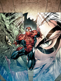Sensational Spider-Man No.24 Cover: Spider-Man, Lizard and Black Cat Posters by Angel Medina