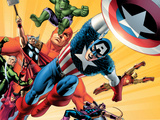 Fallen Son: The Death Of Captain AmericaNo.5 Group: Captain America Posters by John Cassaday