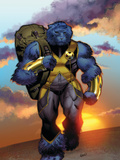 Uncanny X-Men No.519 Cover: Beast Posters by Land Greg