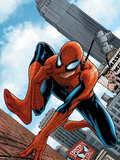 The Amazing Spider-Man No.546 Cover: Spider-Man Posters by MCNiven Steve