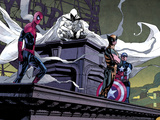 Moon Knight No.2: Spider-Man, Moon Knight, Wolverine, and Captain America Photo by Maleev Alex