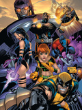 Uncanny X-Men No.469 Cover: Wolverine, Marvel Girl, Nightcrawler, Sentinel, Bishop and Psylocke Poster von Tan Billy