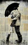 The Black Umbrella Posters par Loui Jover