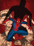 Fear Itself: Spider-Man No.1 Cover: Spider-Man Crouching Posters by Marko Djurdjevic