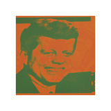 Flash-November 22, 1963, 1968 (orange & green) Giclee Print by Andy Warhol