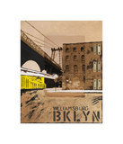 Williamsburg, Brooklyn Giclee Print by Mauro Baiocco