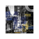 Swinging Chicago Giclee Print by Sven Pfrommer