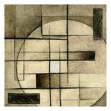 Brown Circle Box 2 Small Affiches par Kristin Emery