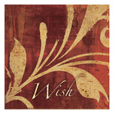 Red Gold Wish 2 Prints by Kristin Emery