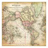 World Map 4 Art by Kristin Emery