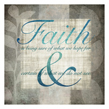 Faith Prints by Kristin Emery