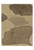 Brown Leaves 3 Poster by Kristin Emery
