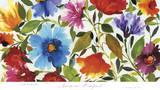Anemone Bouquet Print by Kim Parker