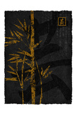 Black Gold Bamboo 2 Prints by Kristin Emery