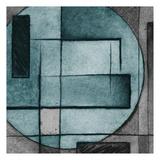 Modern Circles Mate Art by Kristin Emery