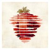 Strawberry Print by Kristin Emery